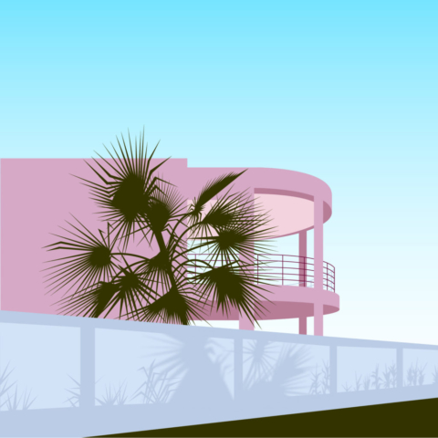 Art Deco Beach House