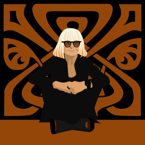 Barbara Hulanicki, fashion designer, founder of Biba, interior designer and illustrator