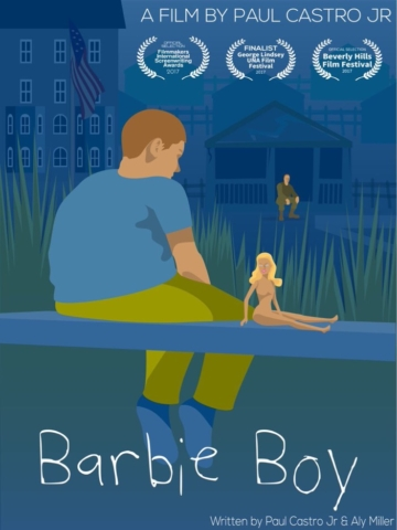 Film Poster for Barbie Boy, written by Paul Castro Jr and Aly Miller