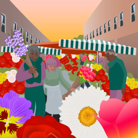Flower Market at Columbia Road