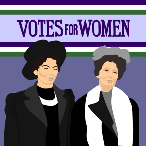 VOTE CENTENARY: Emmeline Pankhurst and her daughter Christabel
