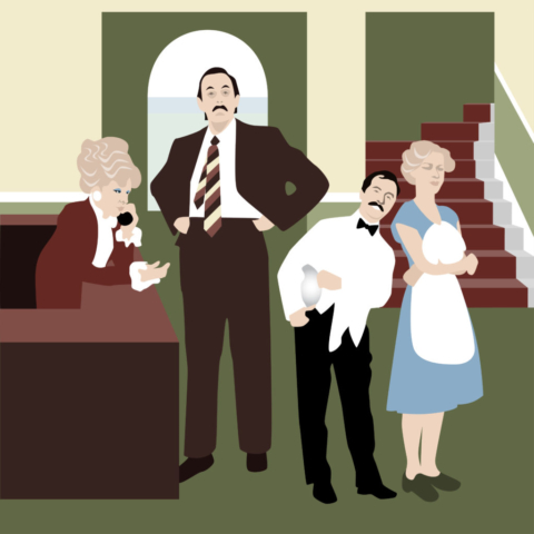 Fawlty Towers tribute