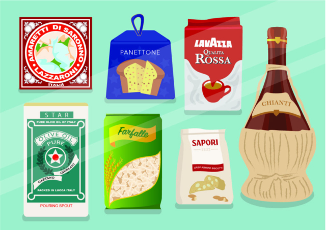 Italian Deli Classic Packaging