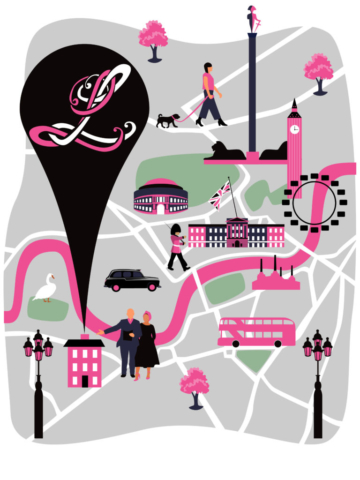Map of Lipstick Illustration Agency Office, London