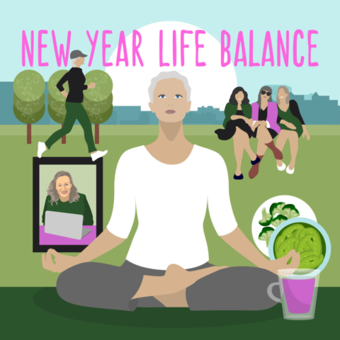New Year Life Balance