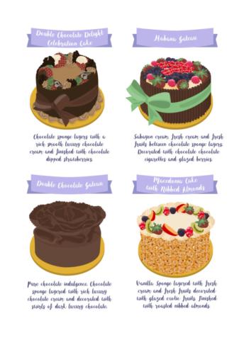 Scrumptious Cakes from Patisserie Valerie