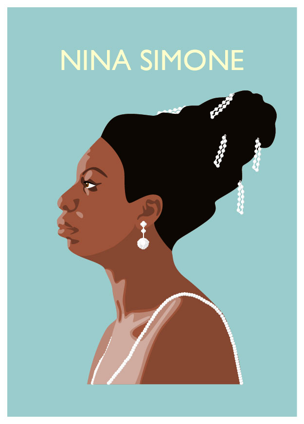 Nina Simone illustrated by Claire Huntley