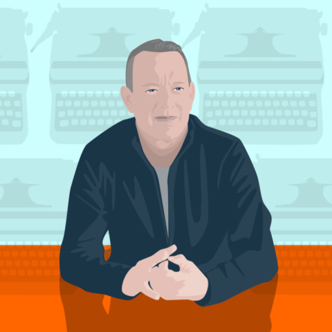 Tom Hanks and the Typewriter Collection