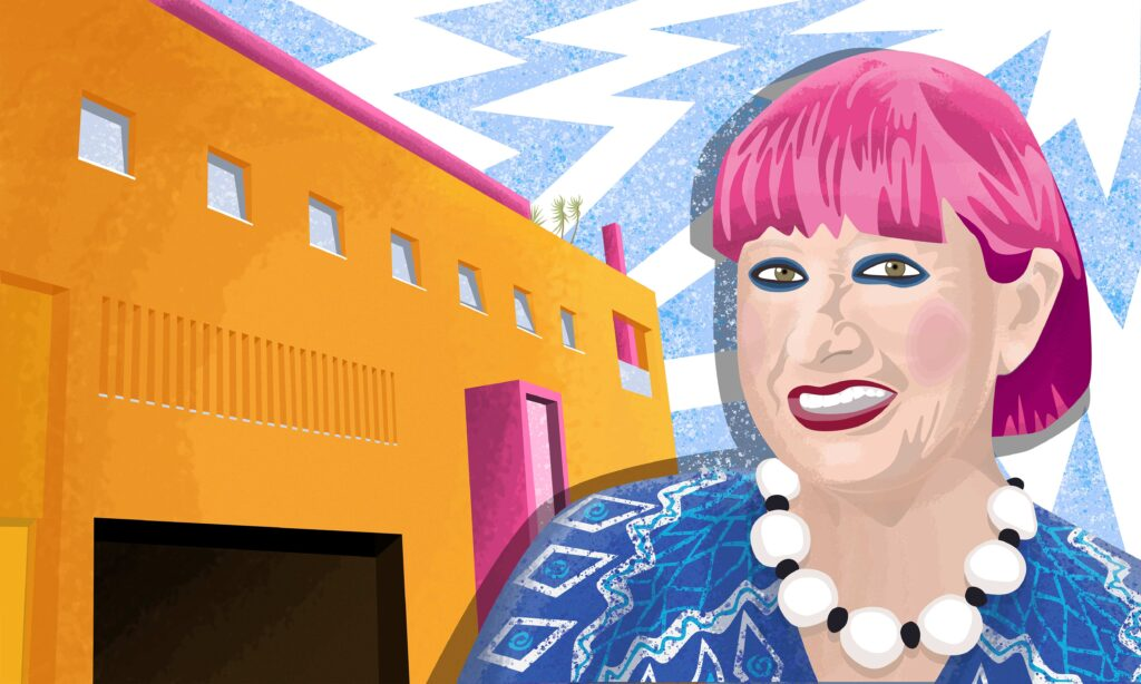 Zandra Rhodes and the Fashion & Textile Museum