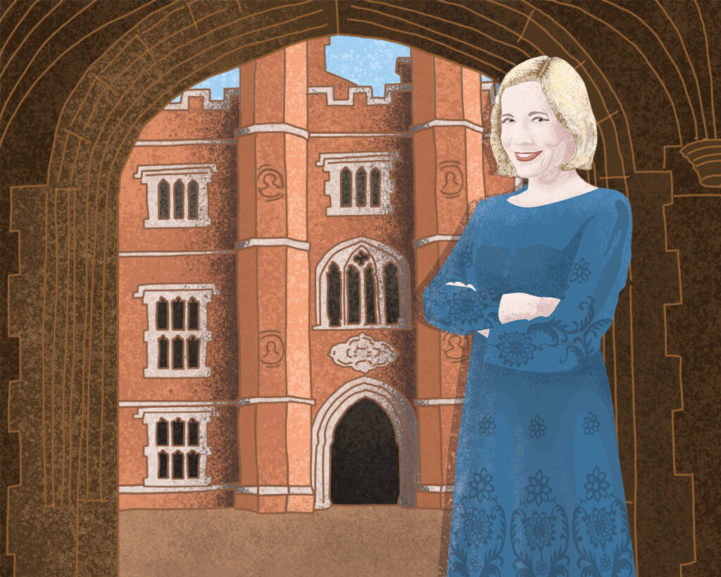 Lucy Worsley, British historian, author, curator, broadcaster, Chief Curator at Historic Royal Palaces