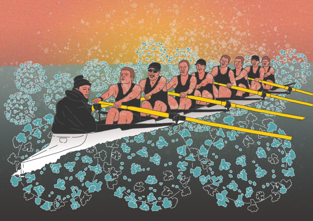 Rowing together to weather the storm