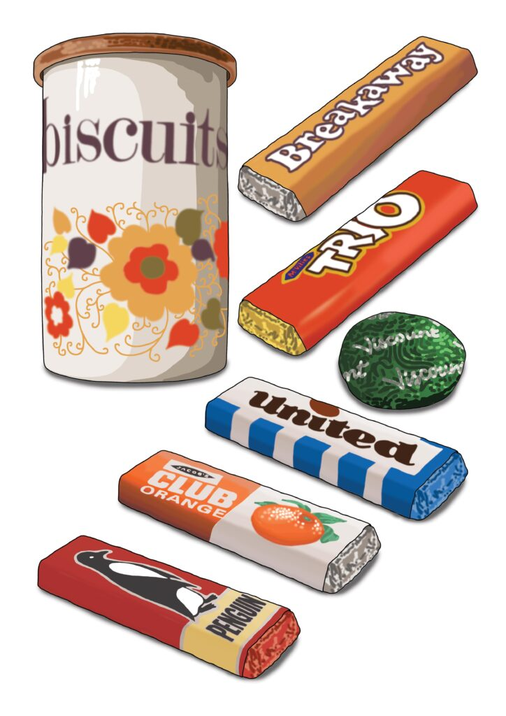 Biscuits of the 1970s and 80s