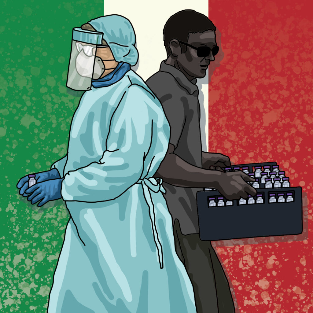 For @politicoeurope 'Italy fears mob has infiltrated vaccination campaign'